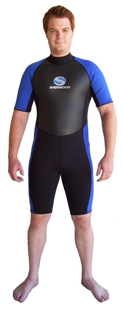 Sherwood-Mens-3-2mm-Superstretch-Shortie-Wetsuit-XXL