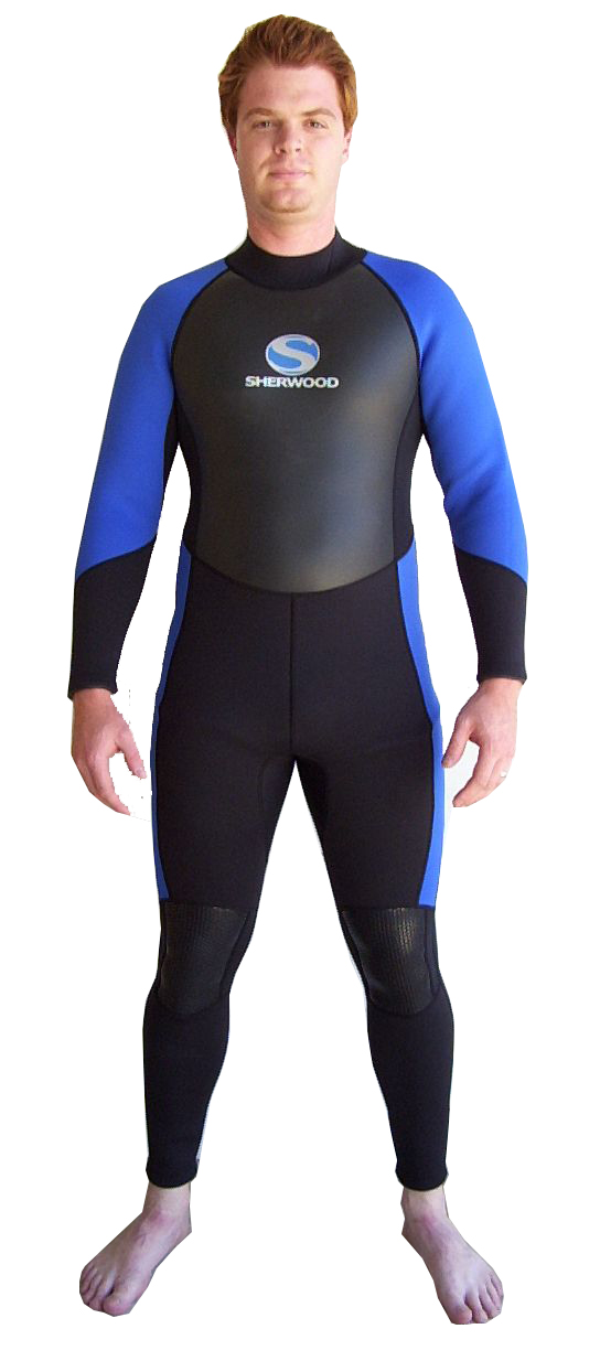 Sherwood-Mens-3mm-Superstretch-Steamer-Wetsuit-LARGE