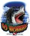AM24NC - Amphibious Outfitters - No Worries Tee Shirt